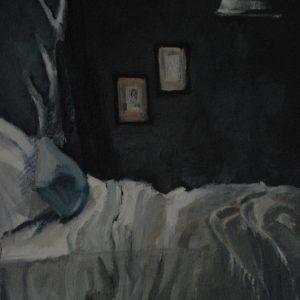Obraz olejny na tekturze i płótnie 24x30 cm